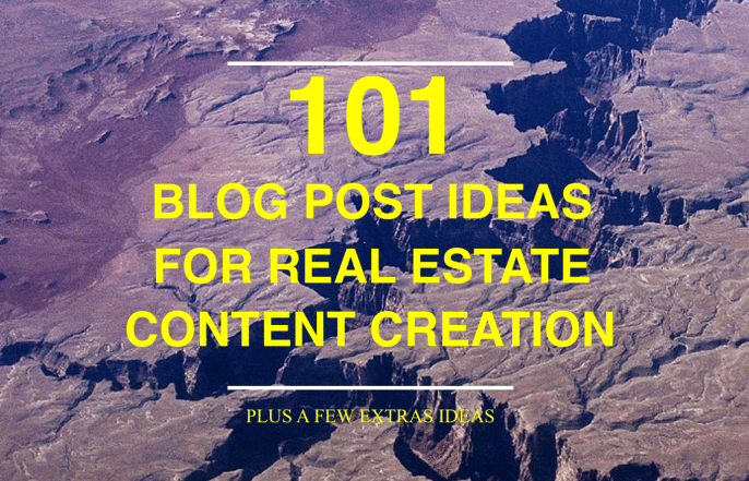 101 amazing blog post ideas for your real estate website