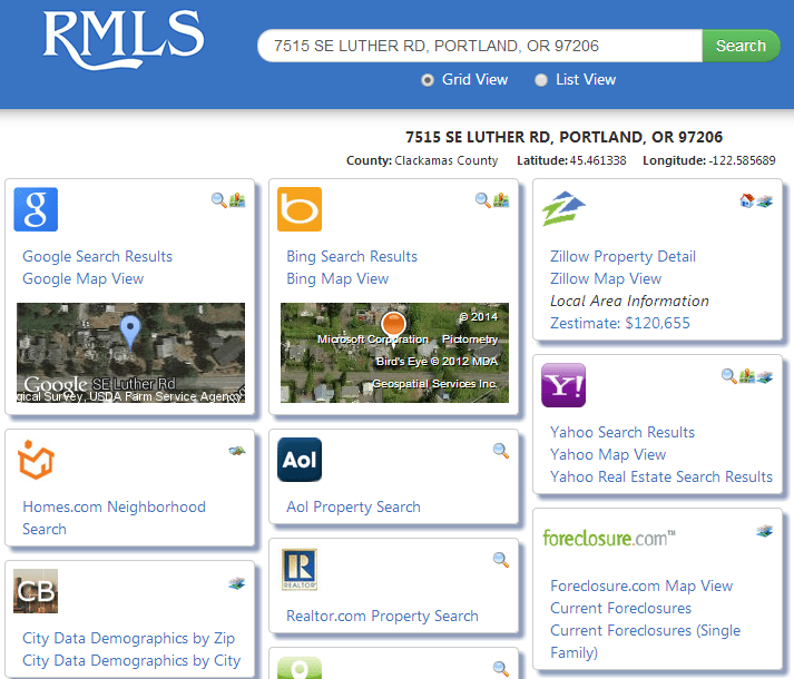 Portland's RMLS is the first to integrate with ShackShout.com, a public-facing site that serves up listing and neighborhood details