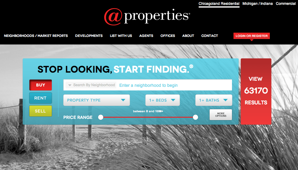 @properties revamps website with Chicago neighborhood focus