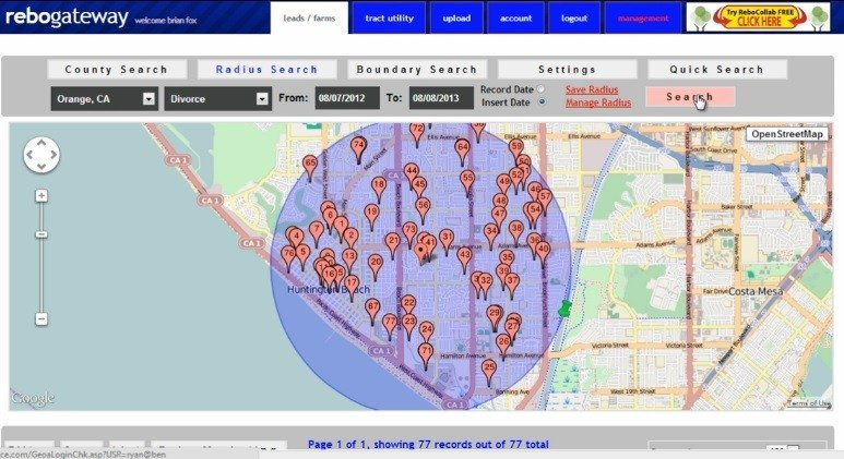 ReboGateway's data-driven prospecting may help California Realtors drum up sellers