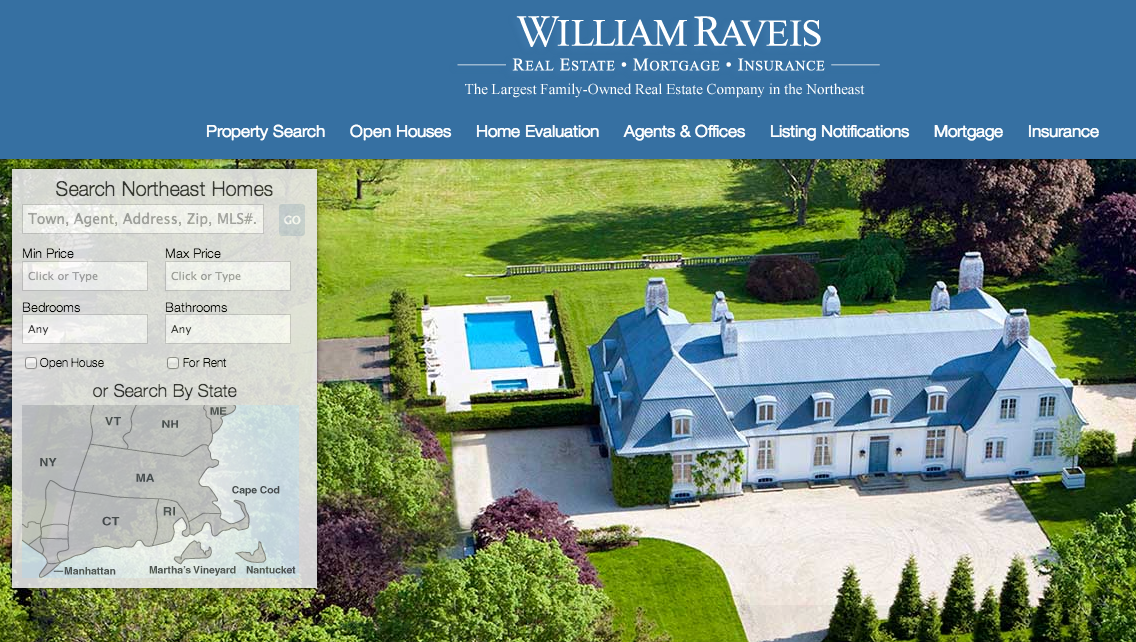 William Raveis says it's the first to offer real estate market forecasting tool