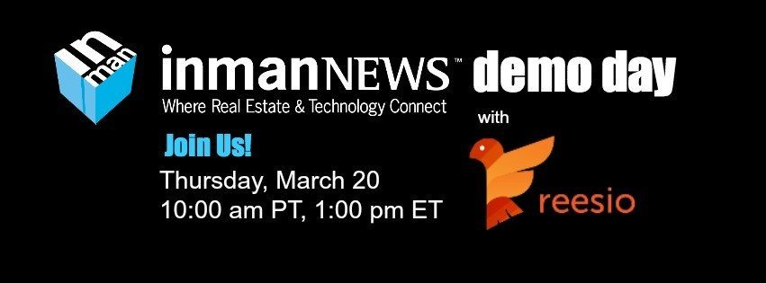Inman News Demo Day with Reesio transaction management [webinar recording]