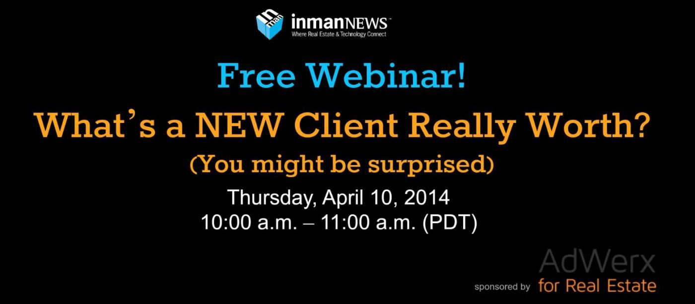 Free webinar: What is a Client Worth? (You Might be Surprised!)