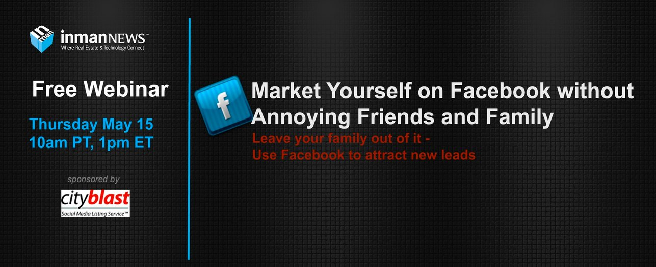 Market yourself on Facebook- without annoying friends and family