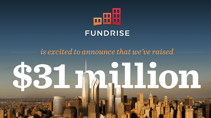 Fundrise, real estate crowdfunder, raises $31 million