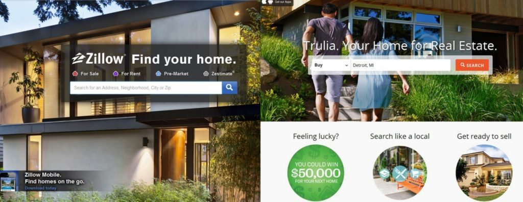 Give the consumer more than a cow pie, then Zillow and Trulia can turn on a referral fee