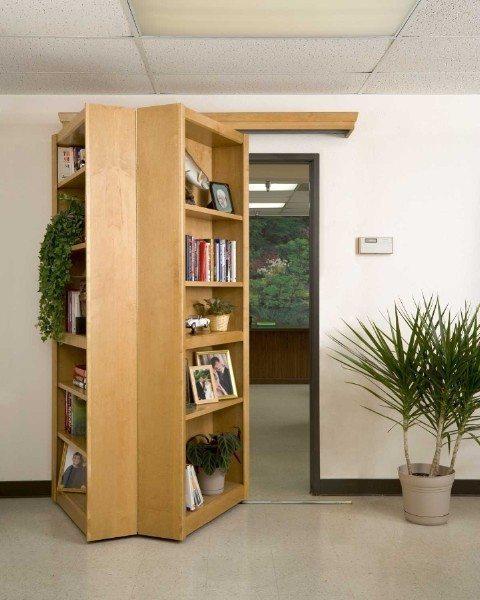 Bookshelf Passageway