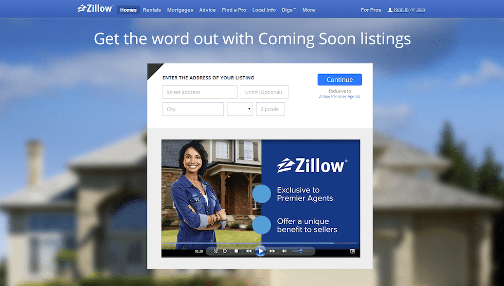 Zillow's 'Coming Soon' listing feature: good or bad for the real estate industry?