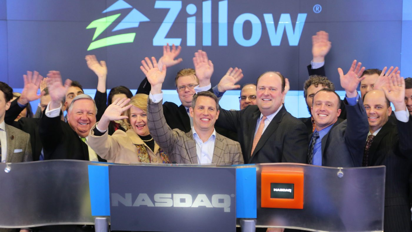 Zillow market cap surpasses $5B on growth expectations