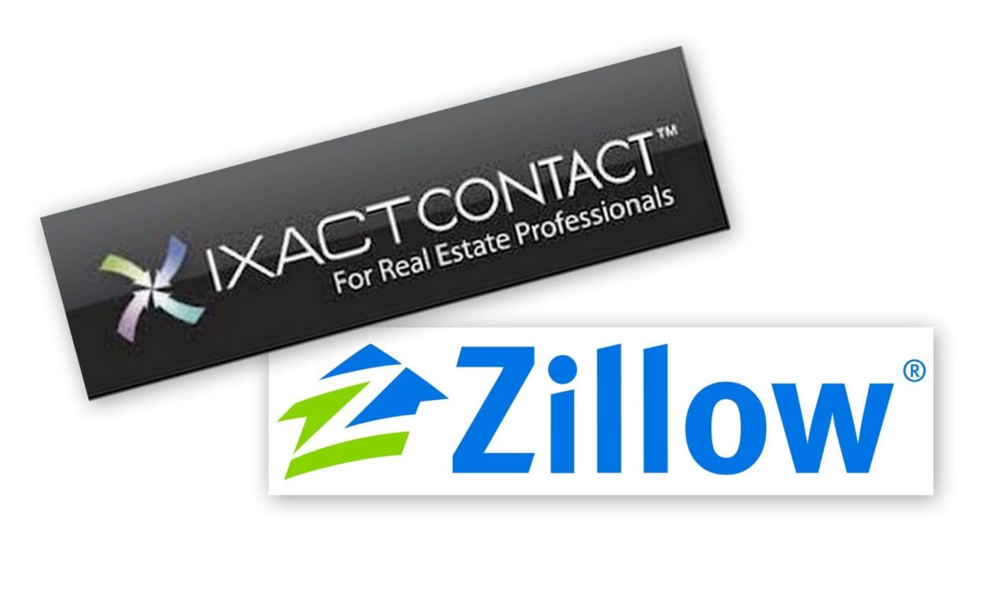 IXACT Contact CRM tool now integrated with Zillow