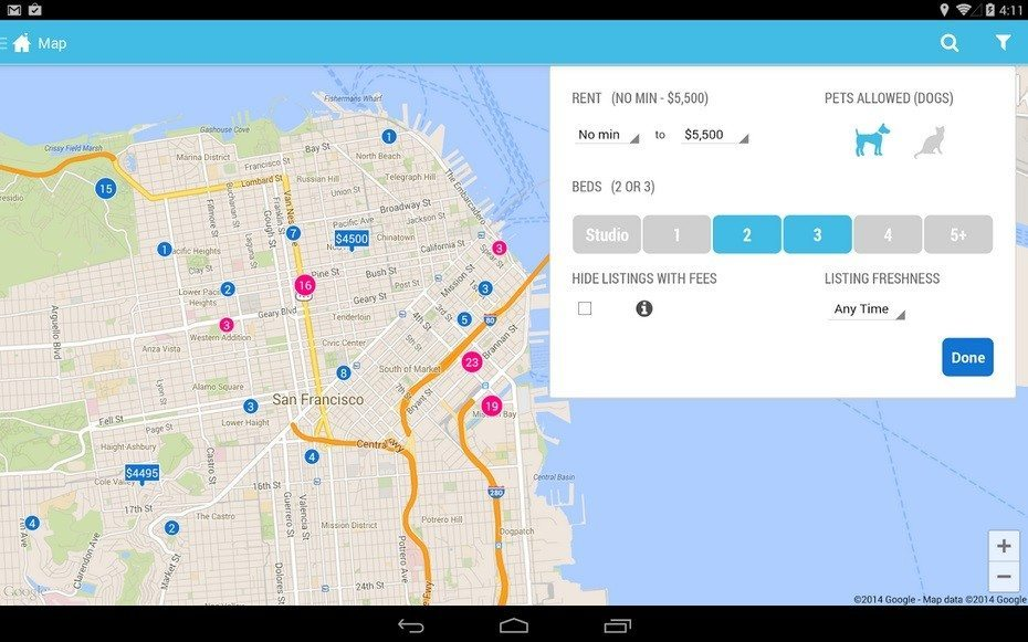 Rental site Zumper readies mobile app for Android Wear