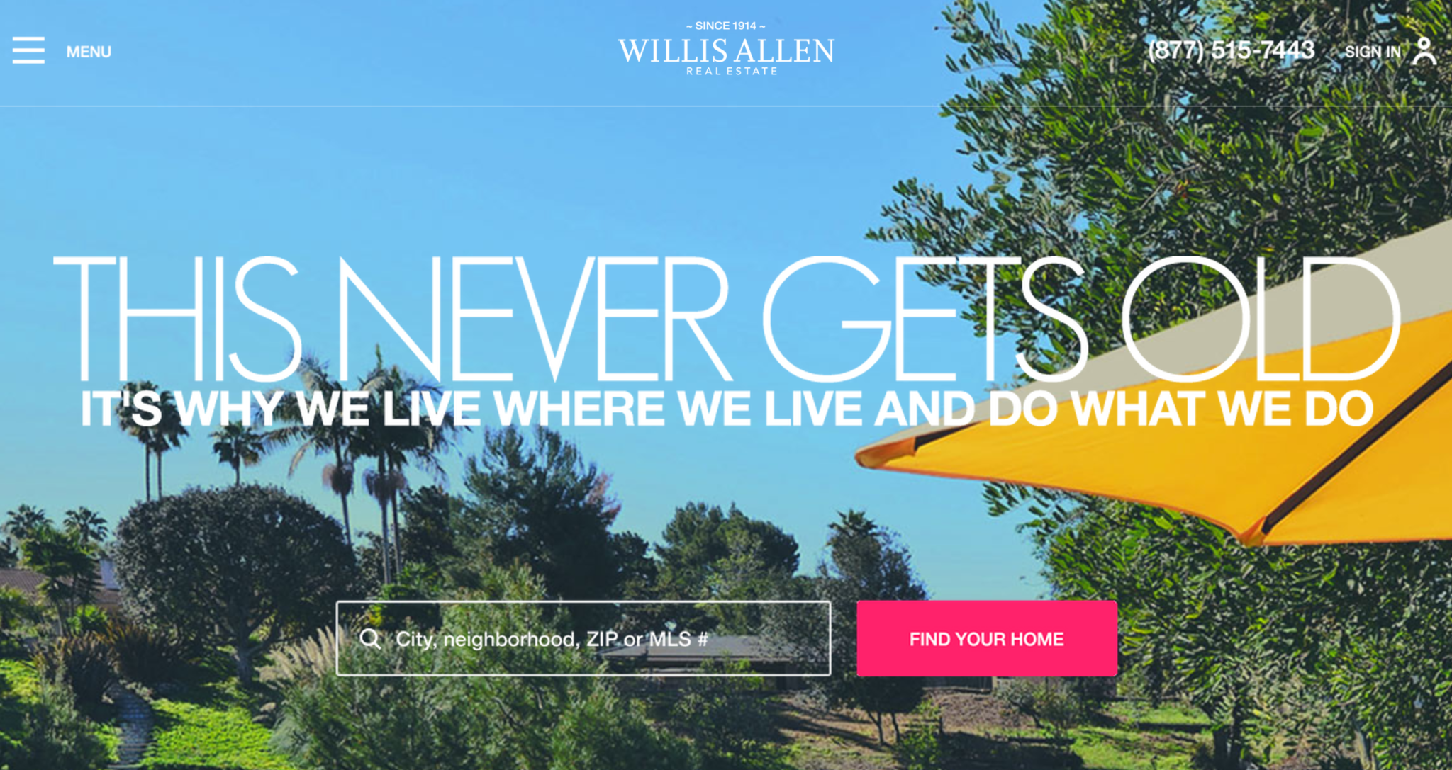 Anatomy of a real estate website revamp
