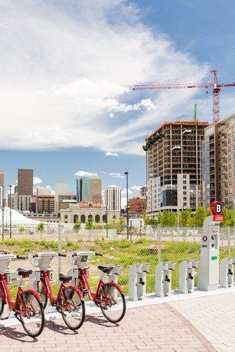 Denver light rail construction boom image via Shutterstock