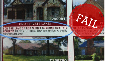 18 real estate 'professionals' who are doing it wrong