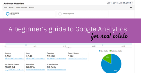Definitive guide to Google Analytics for real estate professionals: Part II - The Overview Reports