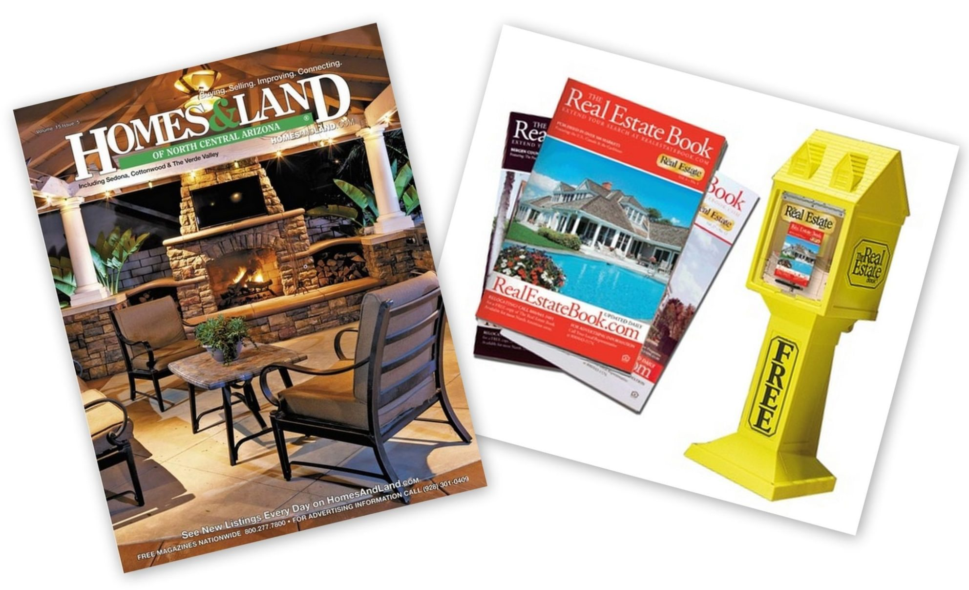 Print ad standbys The Real Estate Book, Homes & Land now under same owner