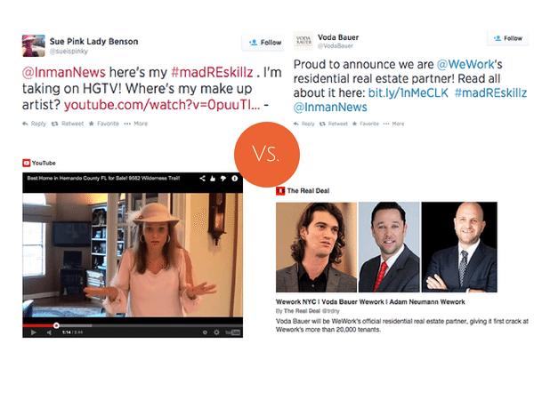 Pink lady videos vs. lead gen in a co-working space