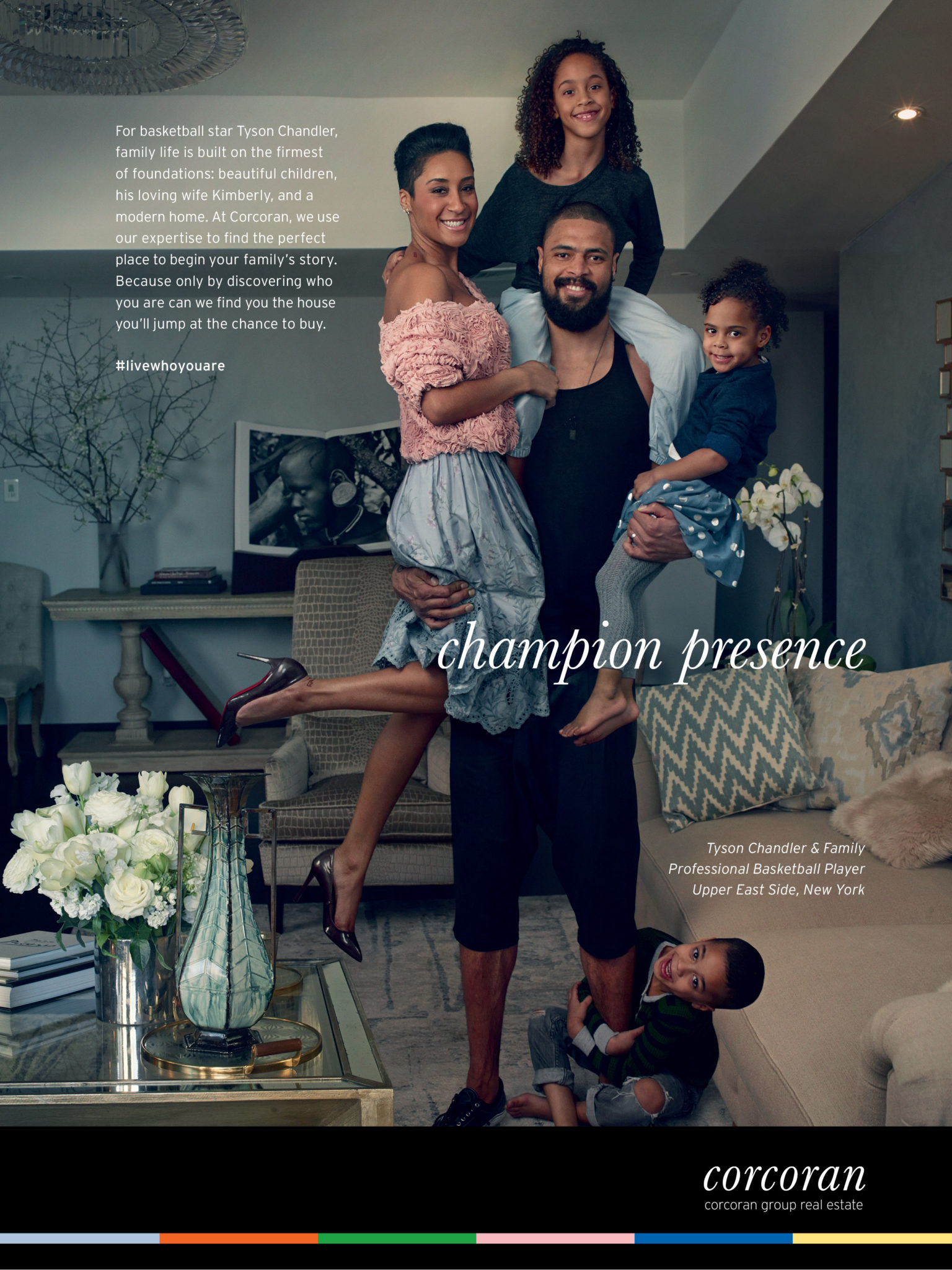 Tyson Chandler and family.
