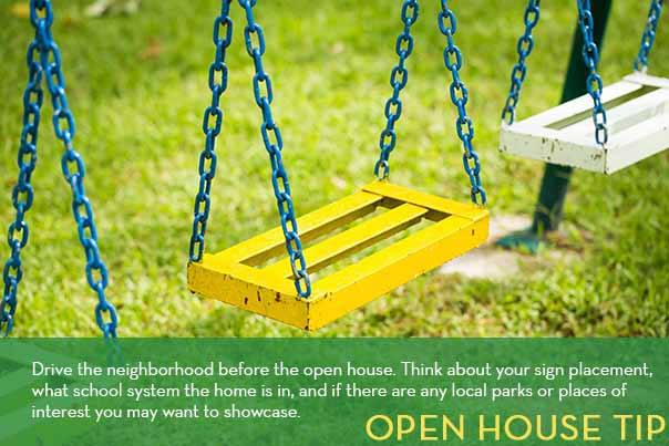 Recharge your open houses