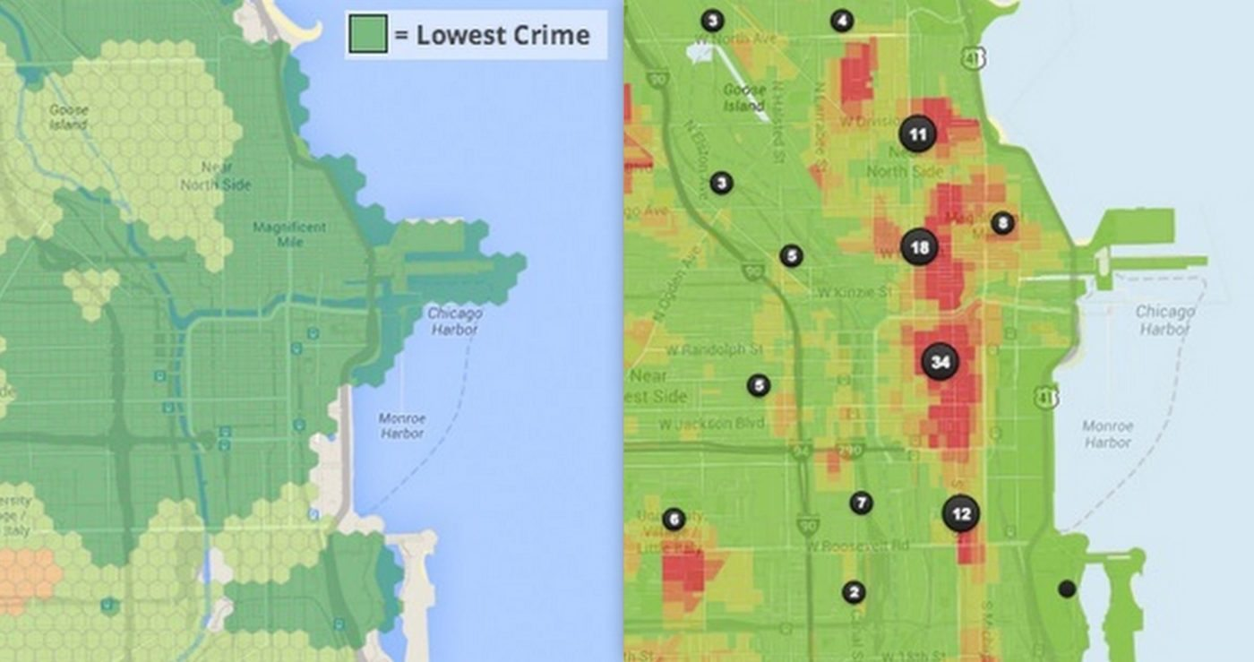 Trulia crime maps paint different picture from Walk Score