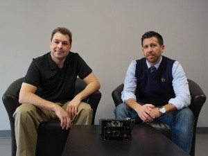 Planitar's Alexander Likholyot and Kevin Klages