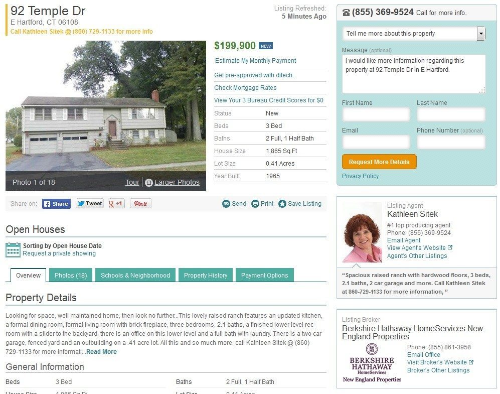 New England brokerage will pay to 'enhance' realtor.com listings