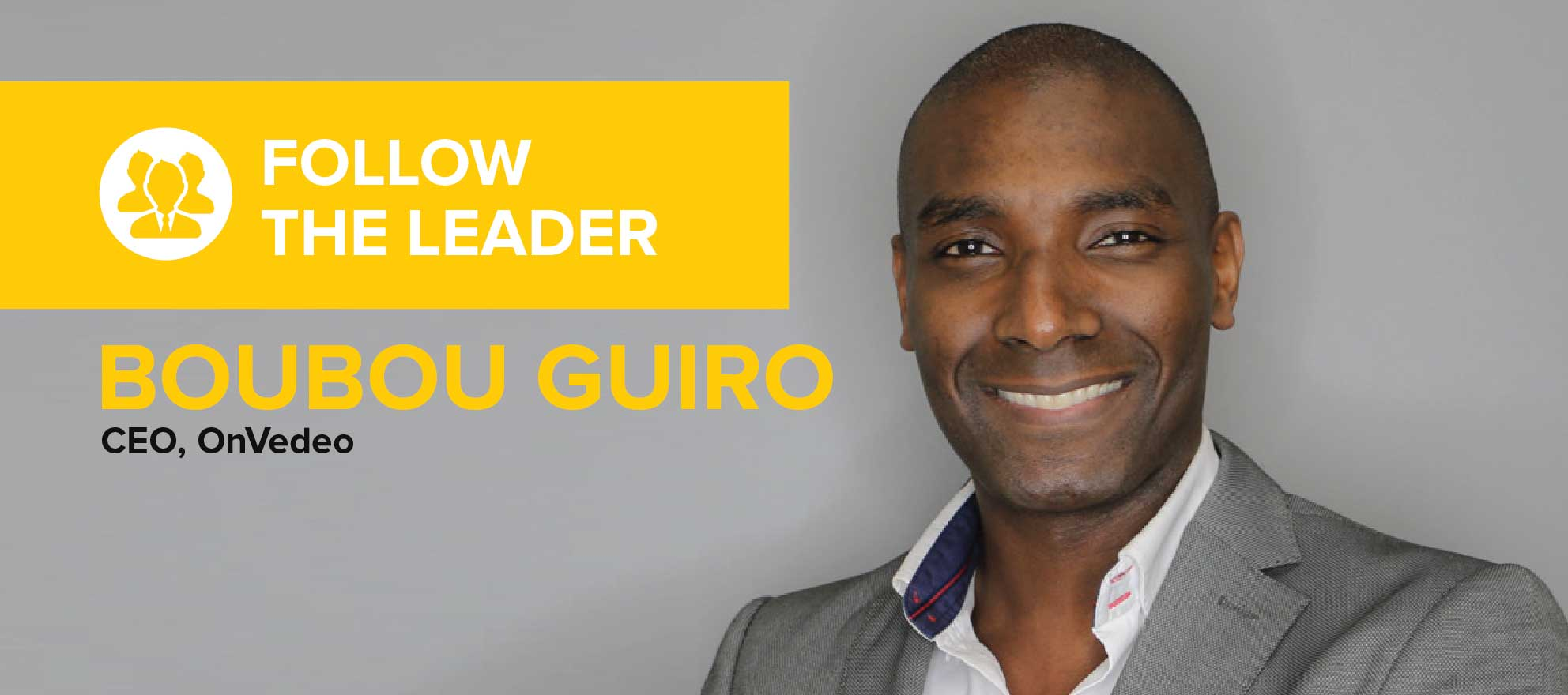 Boubou Guiro: 'Everybody wins if the consumer is happy'