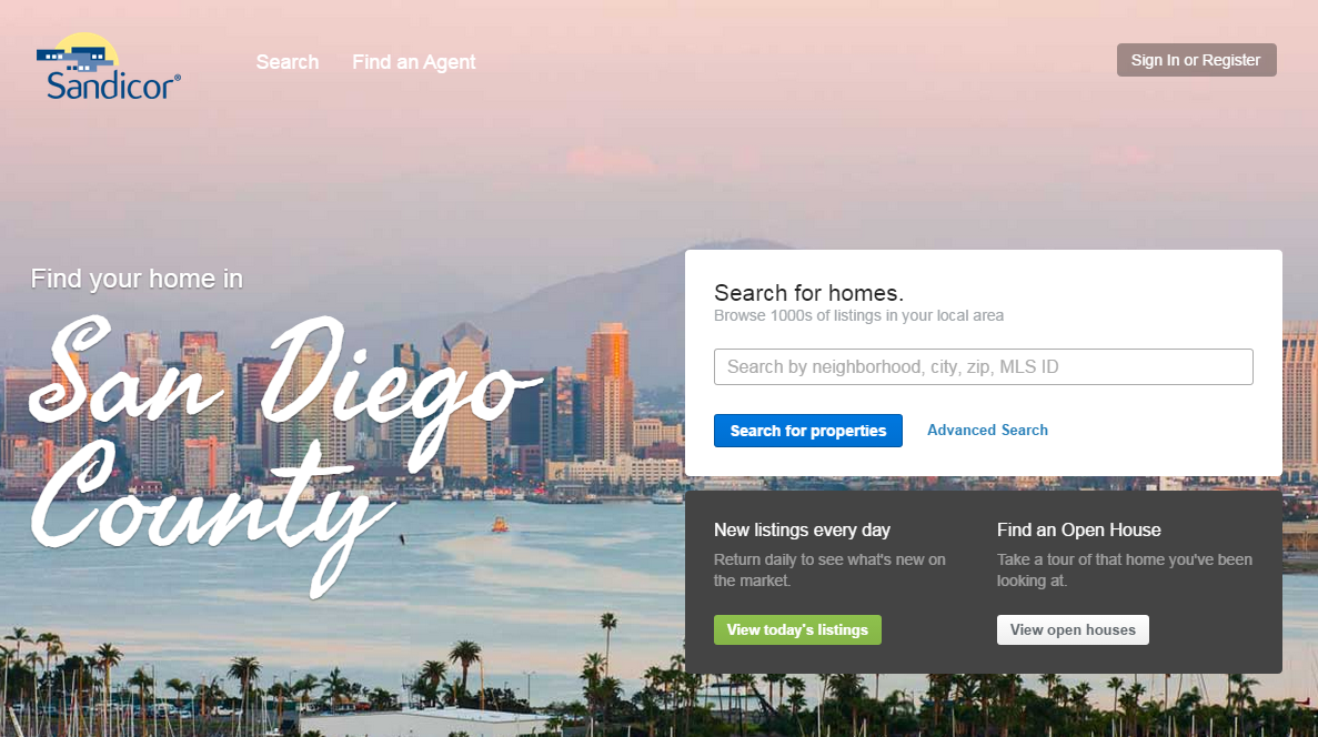San Diego MLS rolls out new consumer-facing real estate search site