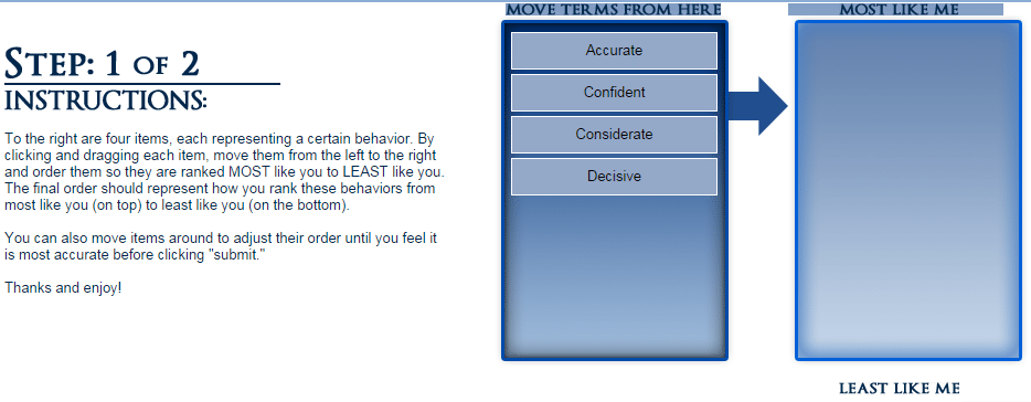 The Keller Williams personality test
