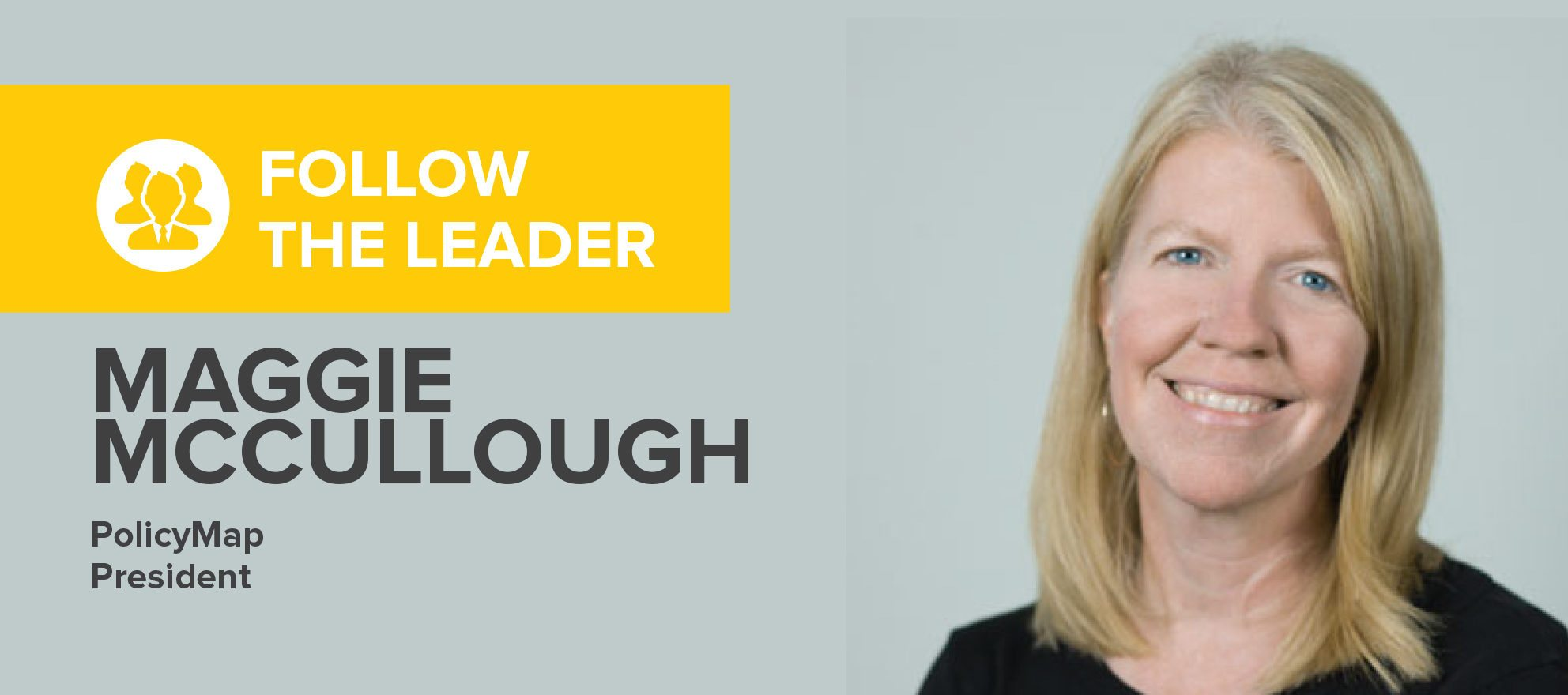 Maggie McCullough: 'We believe in the power of data to create change'