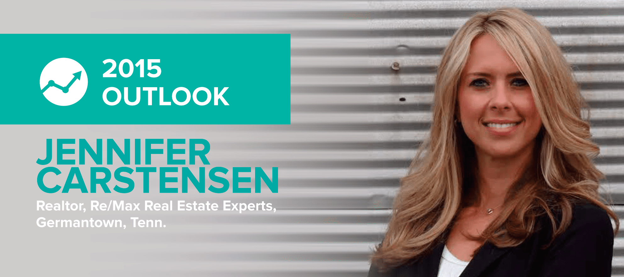 Jennifer Carstensen: 'The seller's market train has left the station'