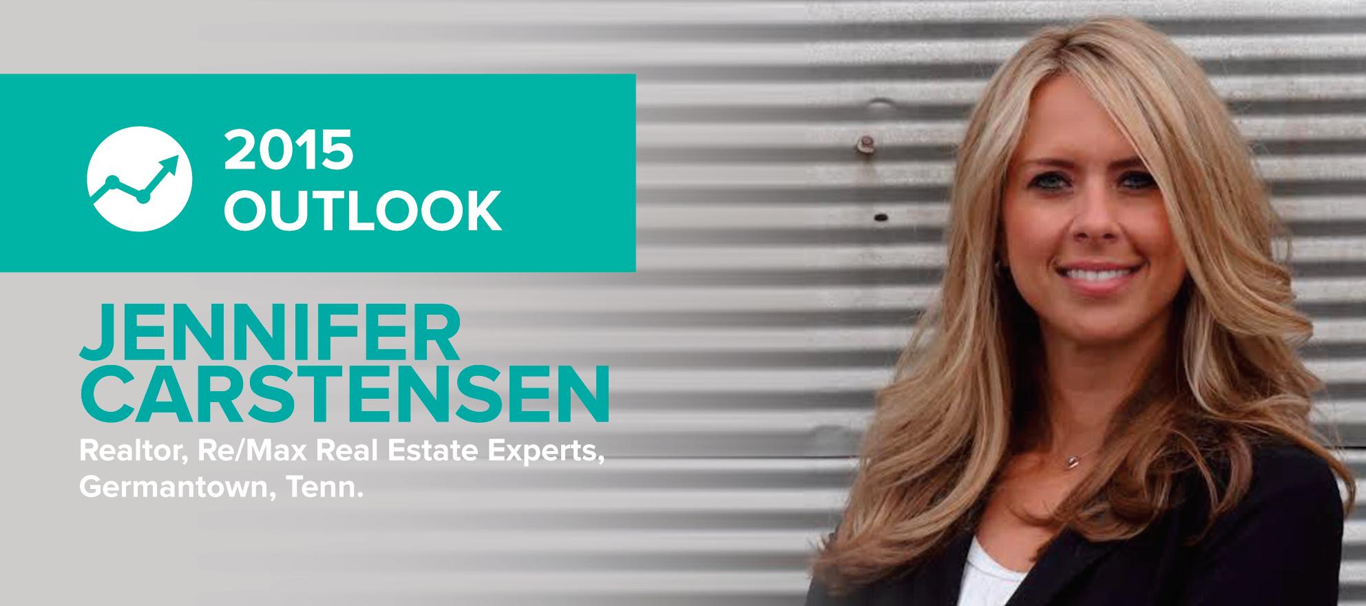Jennifer Carstensen: 'The seller's market train has left the station'