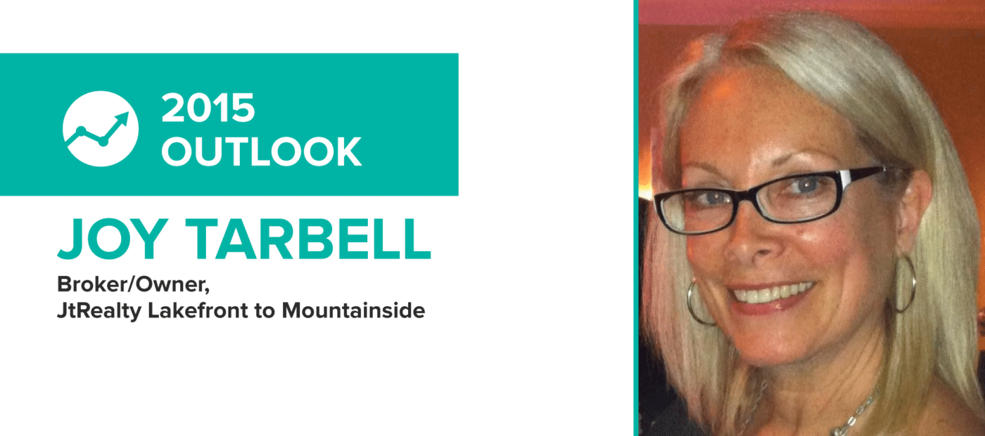 Joy Tarbell: 'Provide value, provide a face and provide a smile'