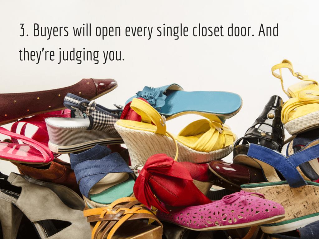 Messy closet Image via Shutterstock.