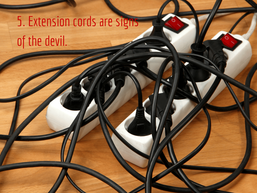 Extension cord Image via Shutterstock.