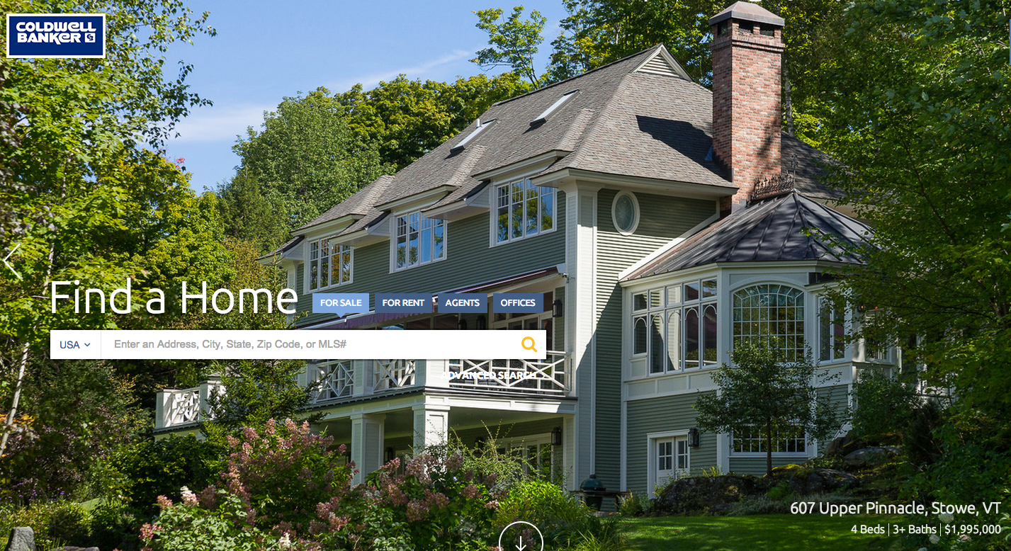 Coldwell Banker targets sellers with website revamp
