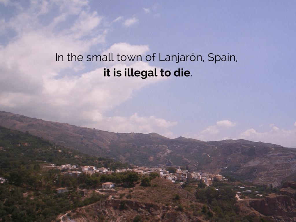 Lanjaron Spain