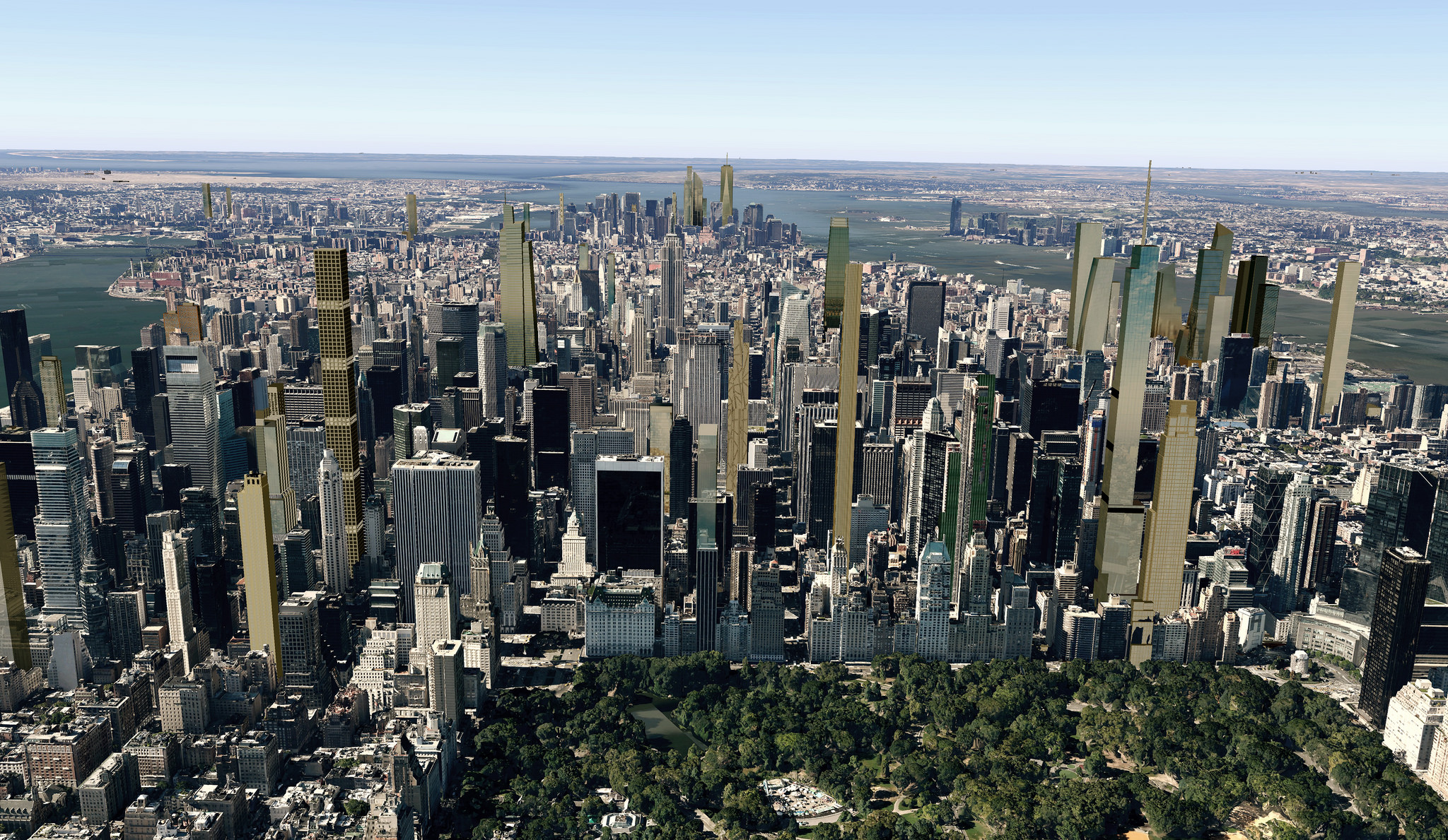 How 'Billionaire's Row' will transform Manhattan skyline