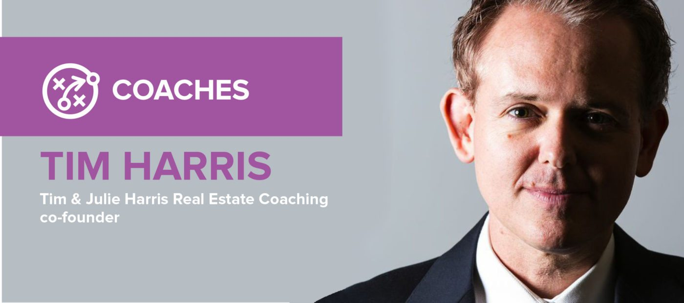 Tim Harris: 'We are all in real estate to be of service to others'