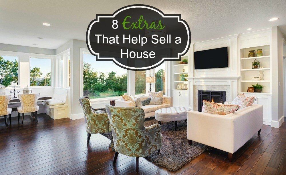 8 'extras' that help sell a house