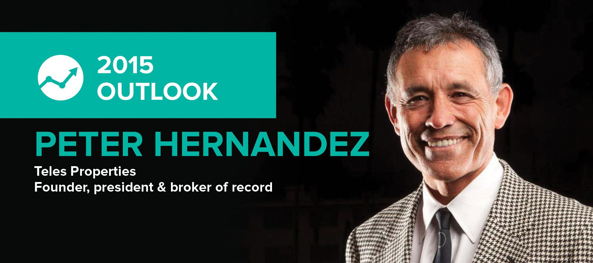 Peter Hernandez: 'There will be more business for everyone in 2015'