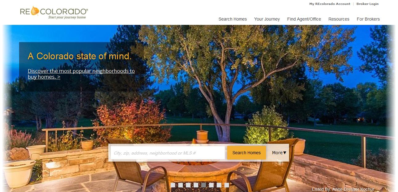 REcolorado.com home page