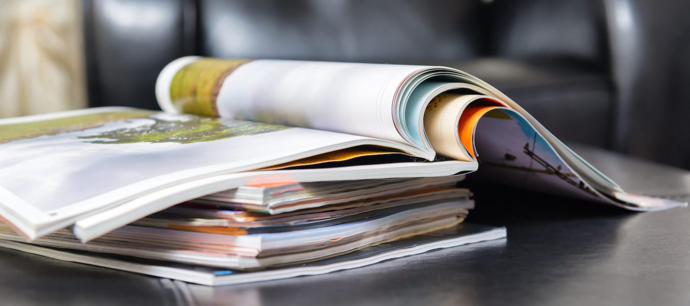 Think like a magazine when planning your year