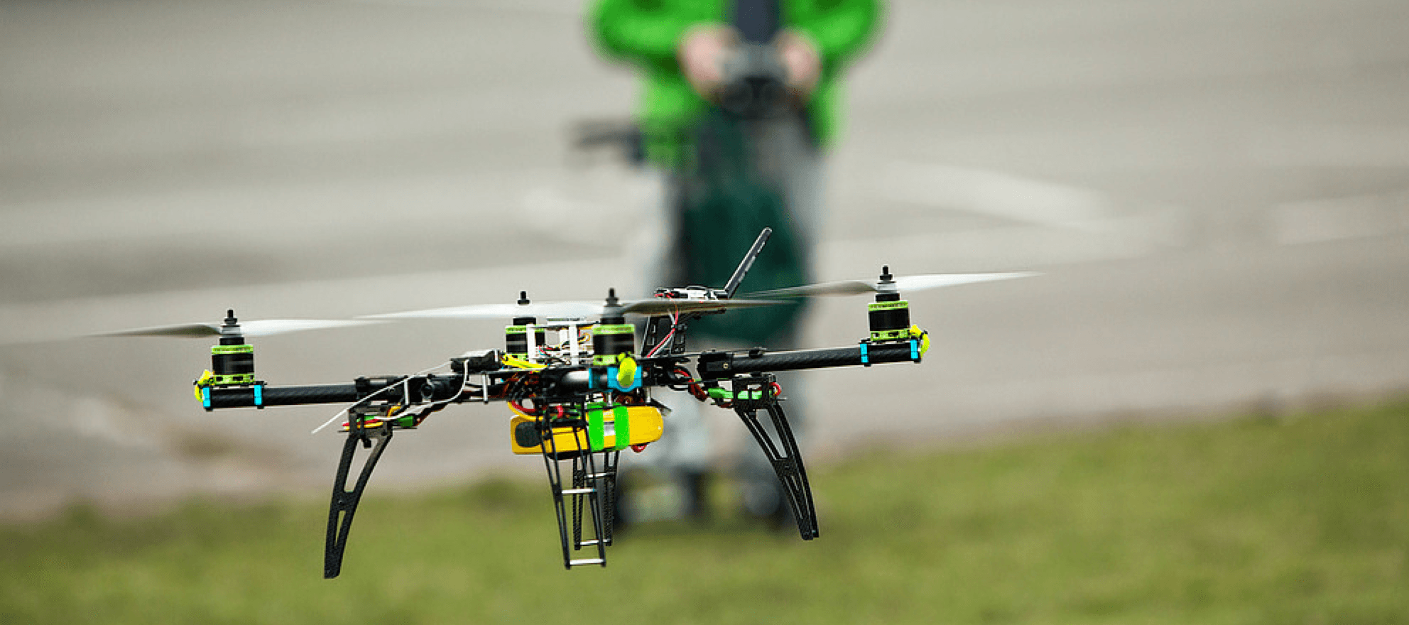 New technology for real estate: how to fly high with drones