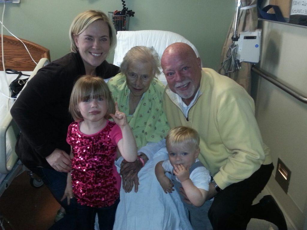 Bob with family Inman News Photo November 2014