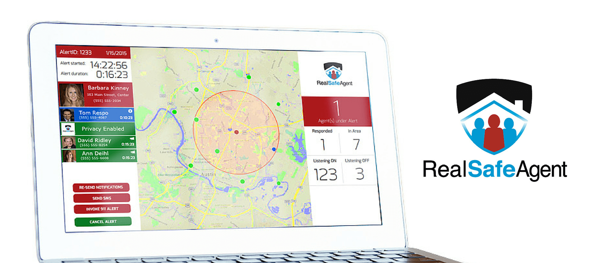 Agent safety apps leverage real estate community