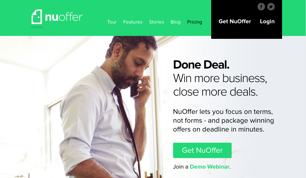 Inman Demo Day with NuOffer