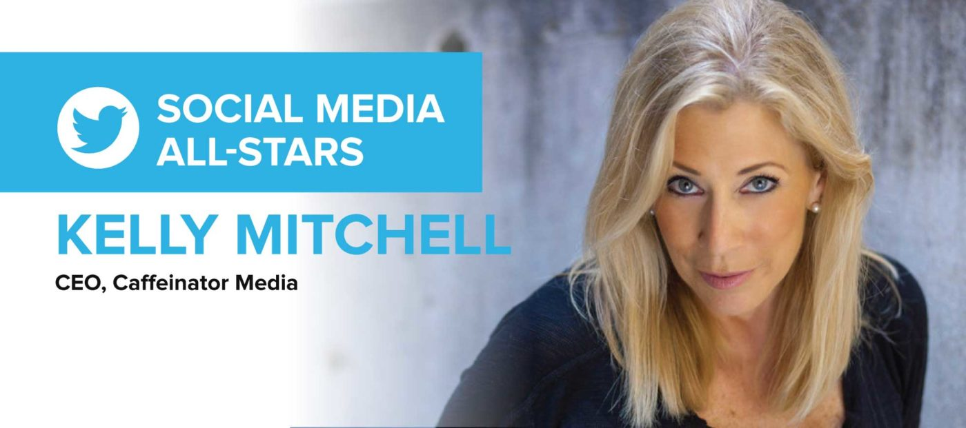 Kelly Mitchell: 'I start conversations and inspire others to get the hell out of their own way'