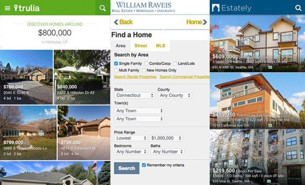 Mobile Real Estate Search