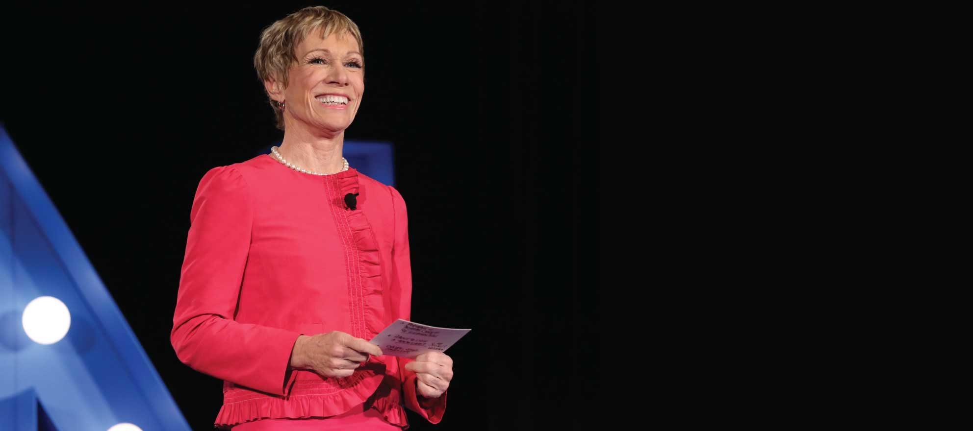 Barbara Corcoran on fire: Watch the video